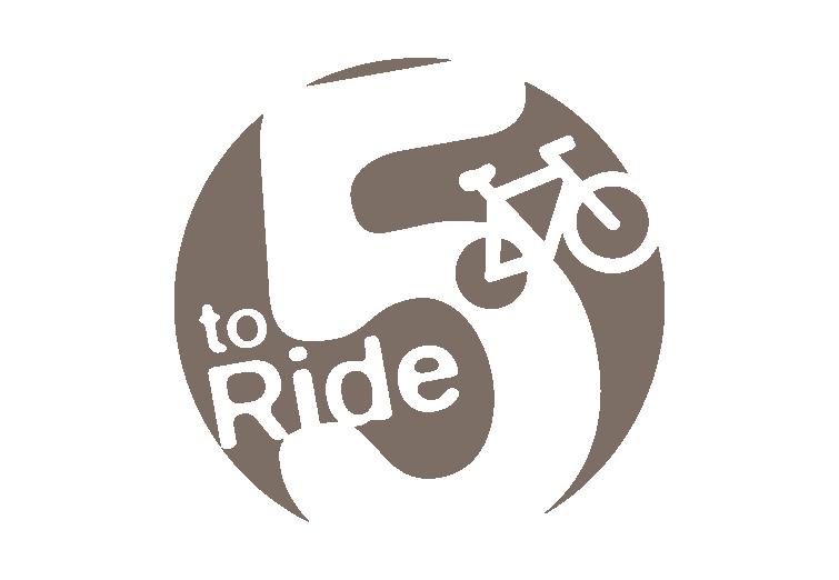 5 to Ride Logo