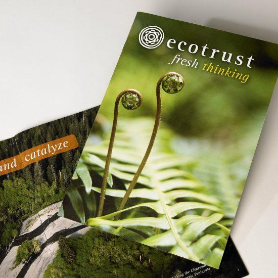 Ecotrust Fresh Thinking Brochure