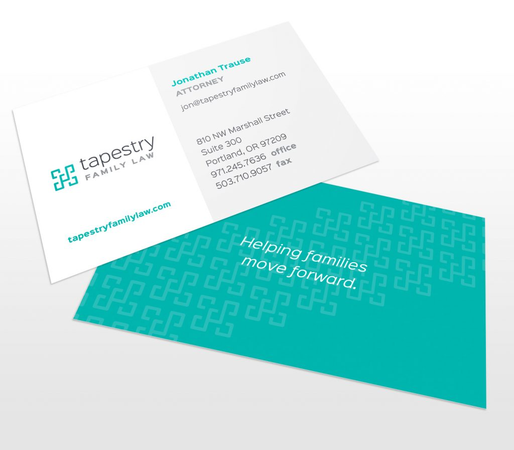 Tapestry Family Law Business Cards