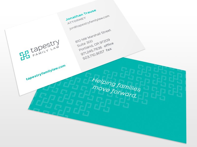 Tapestry Family Law Identity Design
