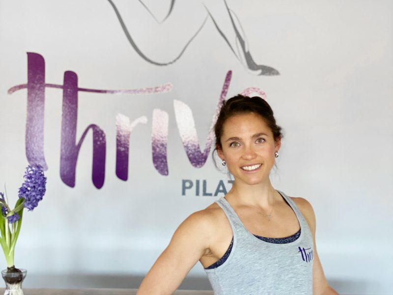 Thrive Pilates Studio Branding