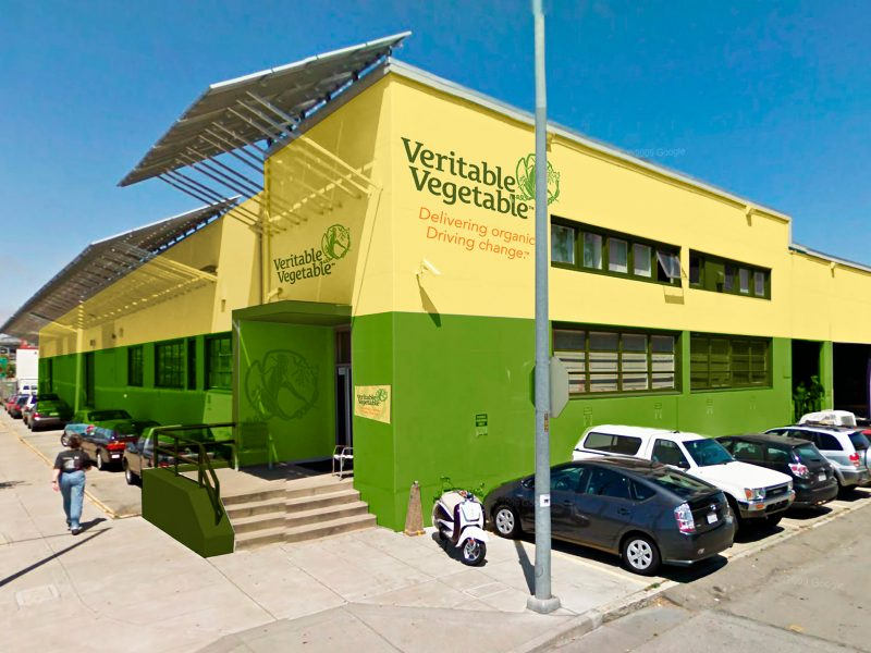 Veritable Vegetable Branding + Building Decoration, San Francisco, CA