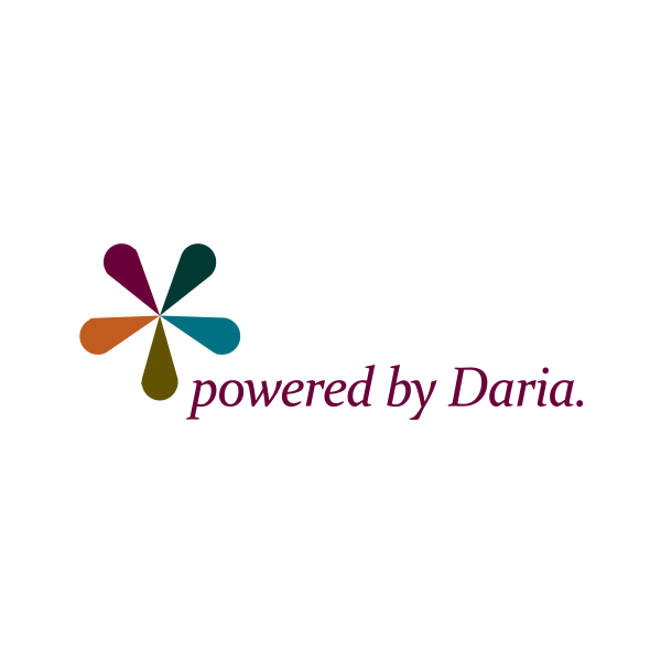 Powered By Daria Logo