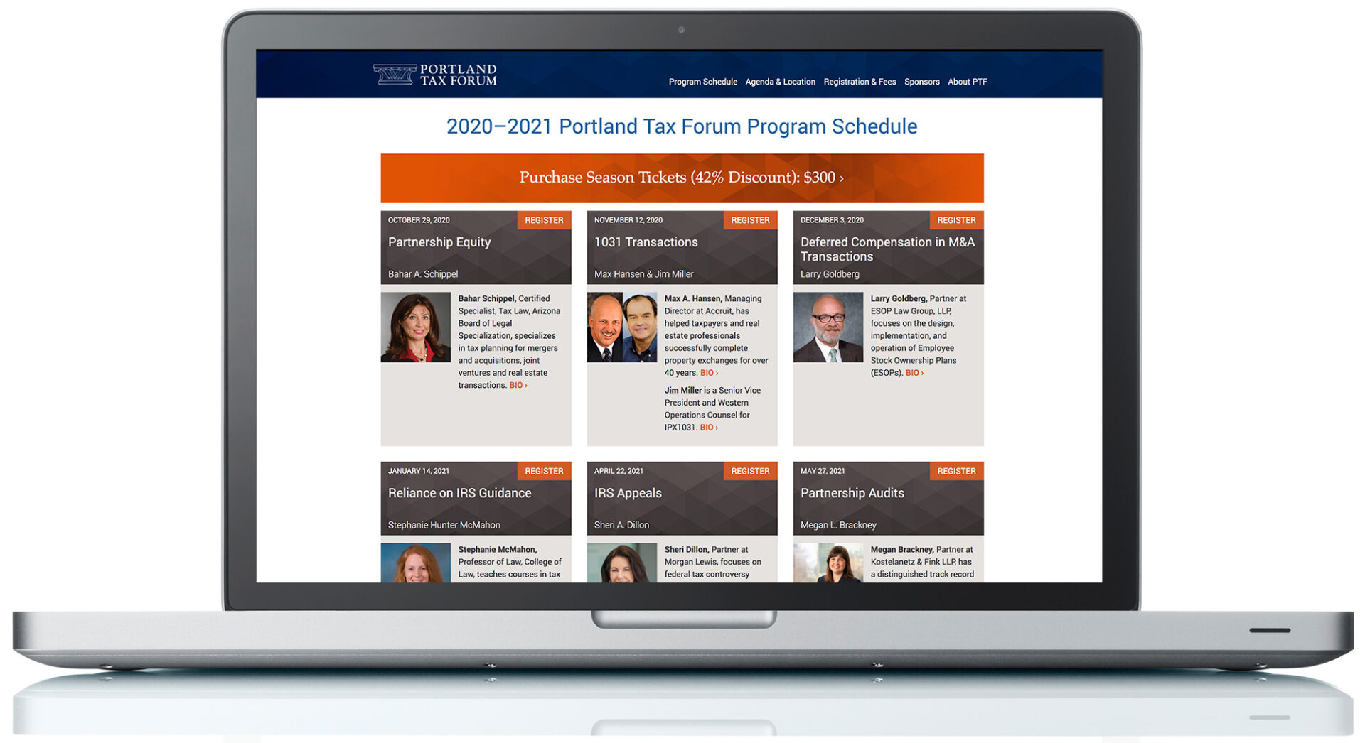Portland Tax Forum Website
