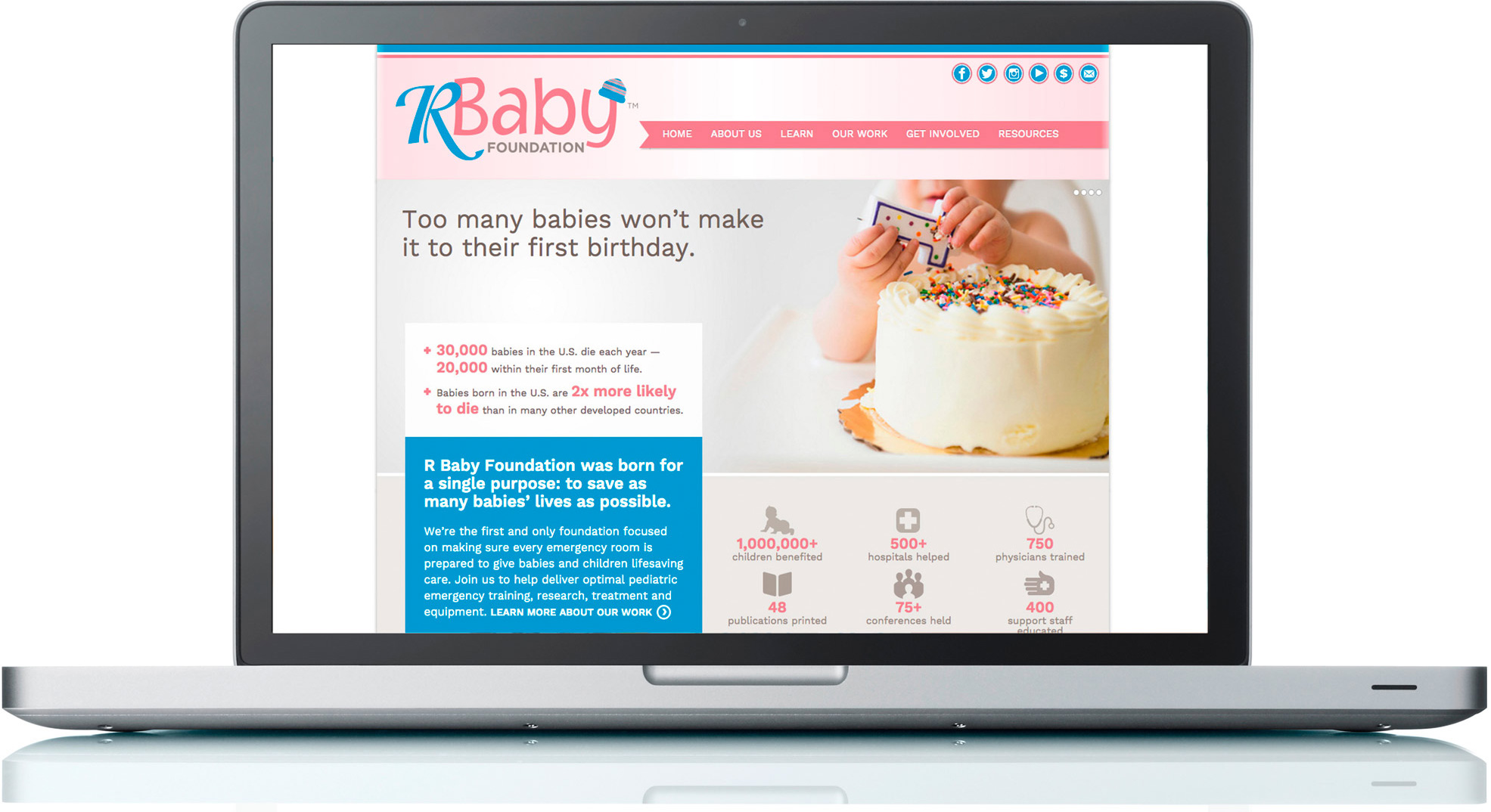R Baby Foundation Website
