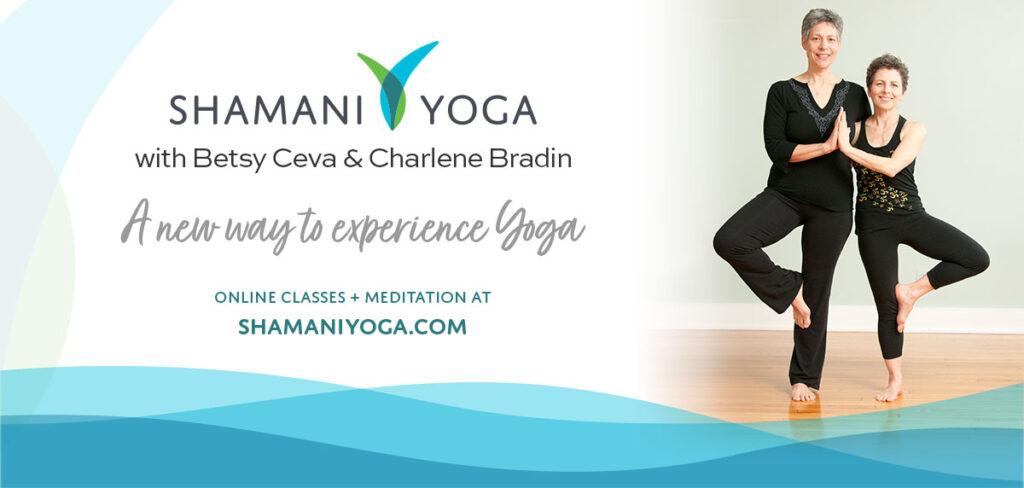 Shamani Yoga Launch Banner
